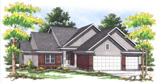 Traditional Style Floor Plans Plan: 7-447