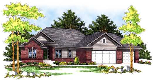 Traditional Style Floor Plans Plan: 7-454