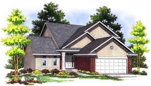 Traditional Style Home Design 7-456