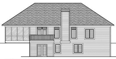 Rear Elevations Plan:7-461