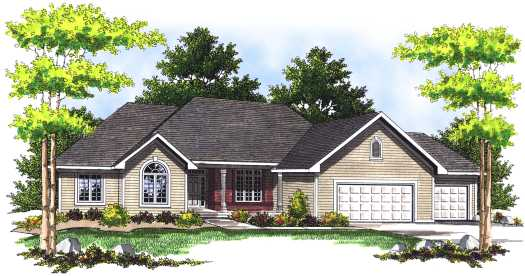 Traditional Style Floor Plans Plan: 7-462