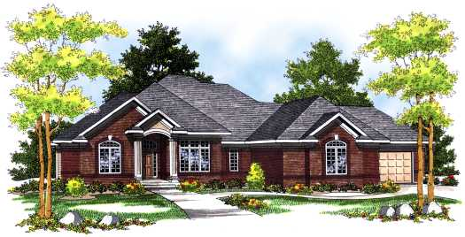 Traditional Style Floor Plans 7-463