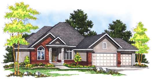 Traditional Style House Plans Plan: 7-464