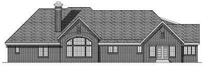 Rear Elevation Plan: 7-465