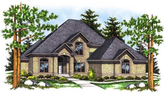 Shingle Style House Plans Plan: 7-466