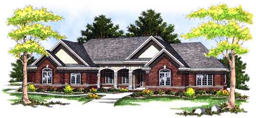 Southern Style Floor Plans Plan: 7-467
