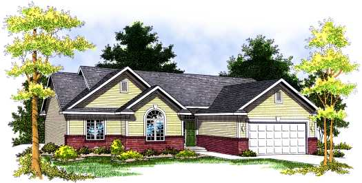 Traditional Style Floor Plans Plan: 7-470