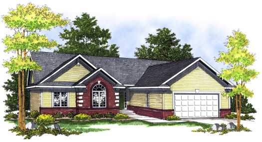 Ranch Style House Plans Plan: 7-471