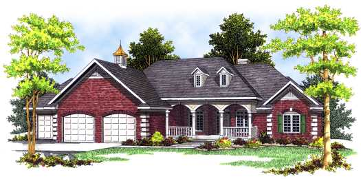 Southern Style Floor Plans Plan: 7-472