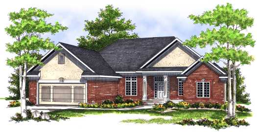 Traditional Style Floor Plans Plan: 7-473