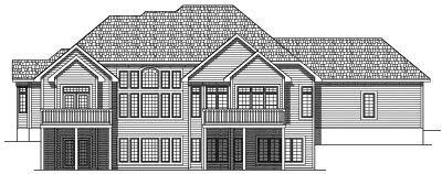 Rear Elevation Plan: 7-476