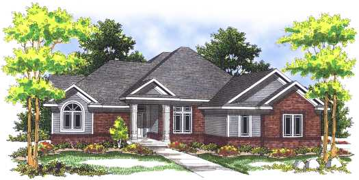 Traditional Style House Plans Plan: 7-478