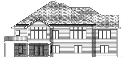 Rear Elevation Plan: 7-478
