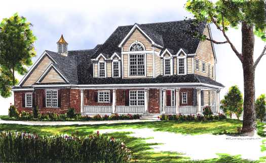 Farm Style House Plans Plan: 7-485