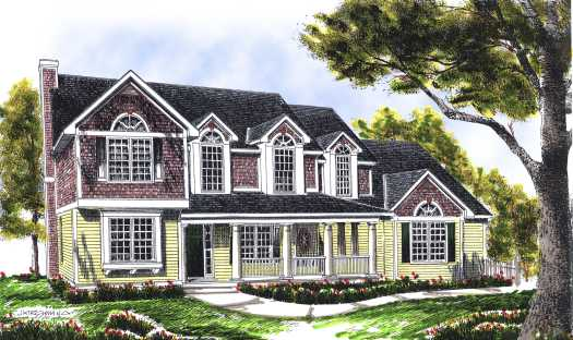 Country Style House Plans Plan: 7-486