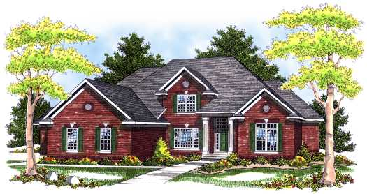 Traditional Style Floor Plans Plan: 7-496