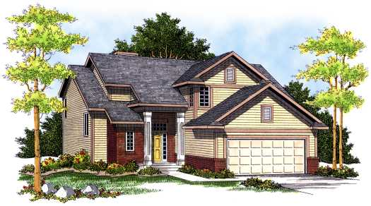 Traditional Style House Plans Plan: 7-502
