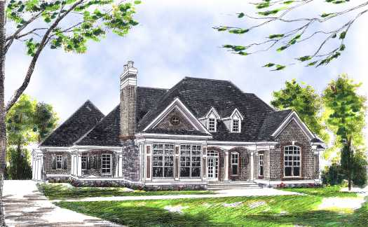 Traditional Style House Plans Plan: 7-504