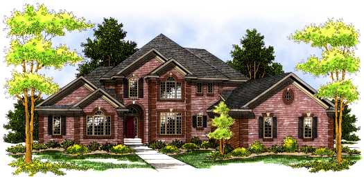 Traditional Style Floor Plans Plan: 7-505