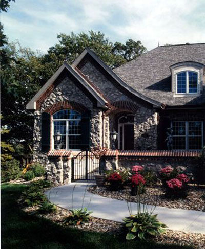 English-country Style House Plans