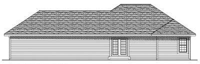 Rear Elevation Plan: 7-516