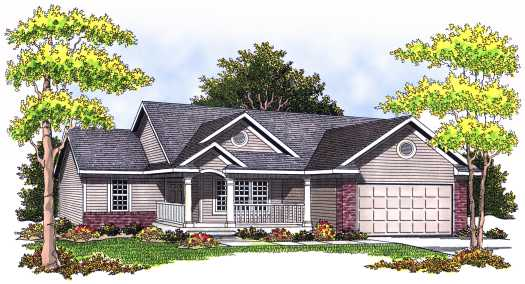 Traditional Style Floor Plans Plan: 7-517