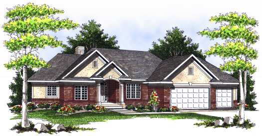 Traditional Style House Plans 7-526