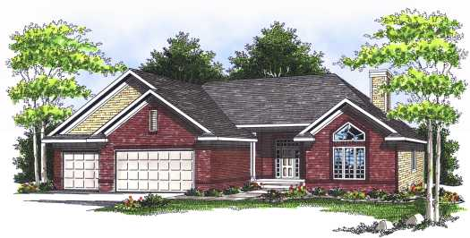 Traditional Style House Plans Plan: 7-530