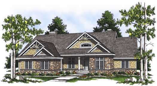 Craftsman Style Floor Plans Plan: 7-532