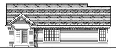 Rear Elevation Plan: 7-533