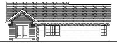 Rear Elevation Plan: 7-534