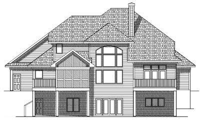 Rear Elevations Plan:7-536