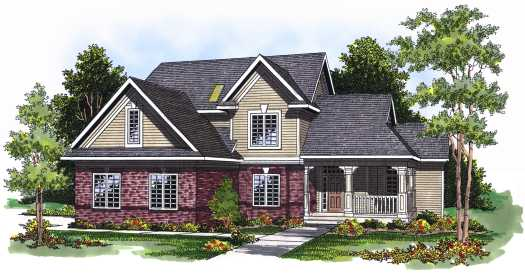 Traditional Style House Plans Plan: 7-539