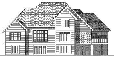 Rear Elevation Plan: 7-559