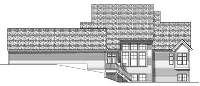 Rear Elevations Plan:7-560