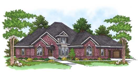 Traditional Style House Plans Plan: 7-568