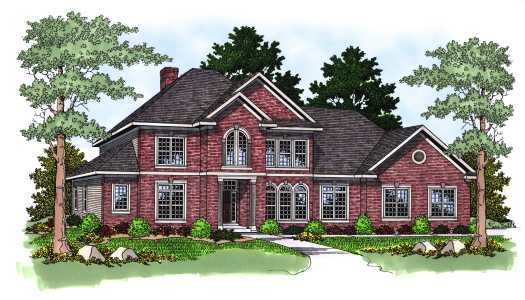 Traditional Style House Plans Plan: 7-570
