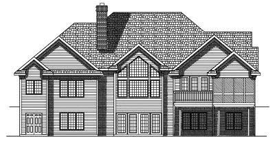 Rear Elevation Plan: 7-571