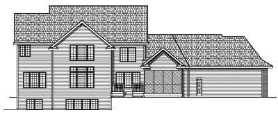 Rear Elevation Plan: 7-572