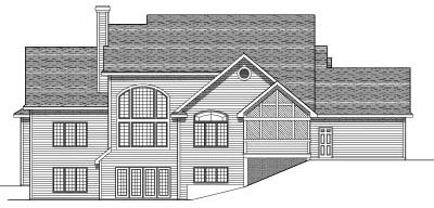 Rear Elevation Plan: 7-575
