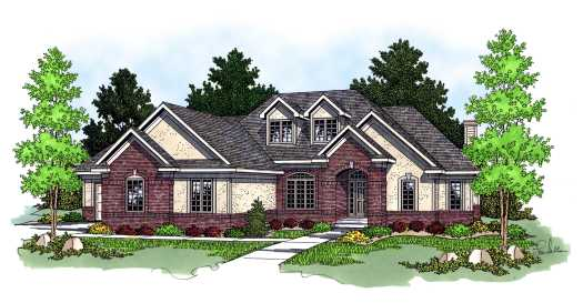 Traditional Style Floor Plans Plan: 7-576