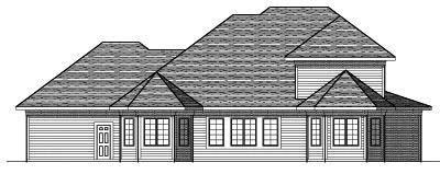 Rear Elevation Plan: 7-577