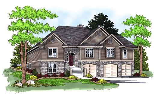 Traditional Style Floor Plans Plan: 7-578