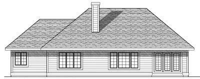 Rear Elevation Plan: 7-578