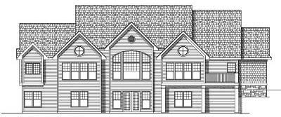 Rear Elevation Plan: 7-583