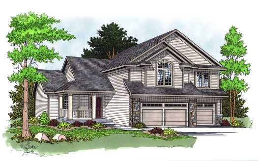 Traditional Style Floor Plans Plan: 7-585