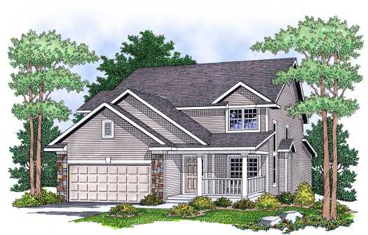 Traditional Style House Plans Plan: 7-600