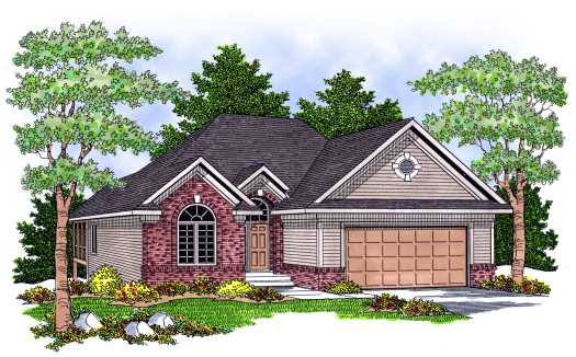 Traditional Style Floor Plans Plan: 7-602
