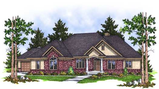 Southern Style Floor Plans Plan: 7-607