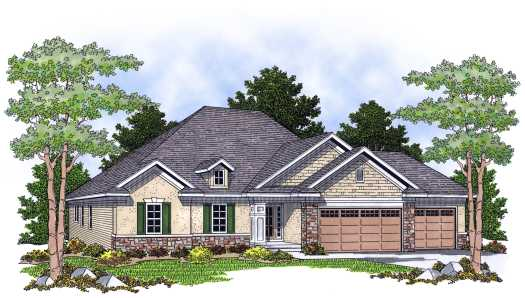 Traditional Style House Plans Plan: 7-612